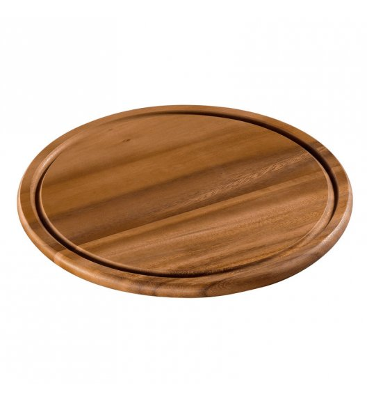 ZASSENHAUS Okrągła deska do serwowania z drewna akacjowego ⌀ 30 cm / FreeForm