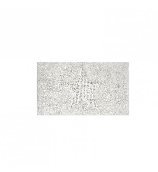 KELA Bawełniana mata łazienkowa LINDANO biała 100 × 60 cm / FreeForm