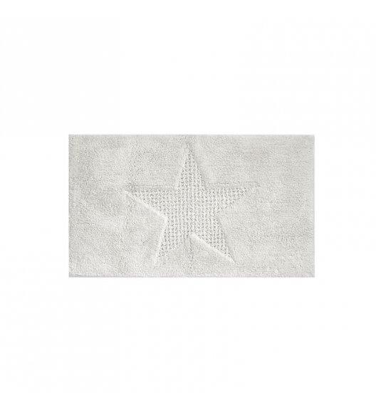 KELA Bawełniana mata łazienkowa LINDANO biała 120 × 70 cm / FreeForm