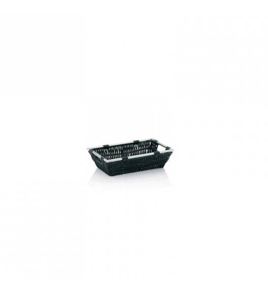 KELA Koszyk łazienkowy NOBLESSE czarny 26 x 16 x 7 cm / FreeForm