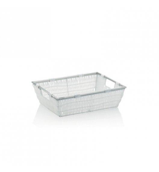 KELA Koszyk łazienkowy NOBLESSE biały 33 x 25 x 10 cm / FreeForm
