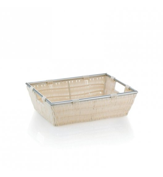 KELA Koszyk łazienkowy NOBLESSE kremowy 33 x 25 x 10 cm / FreeForm