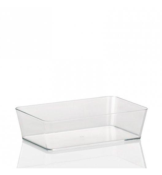 KELA Przeźroczysty organizer łazienkowy KRISTALL jasny 22 x 14 x 6 cm / FreeForm