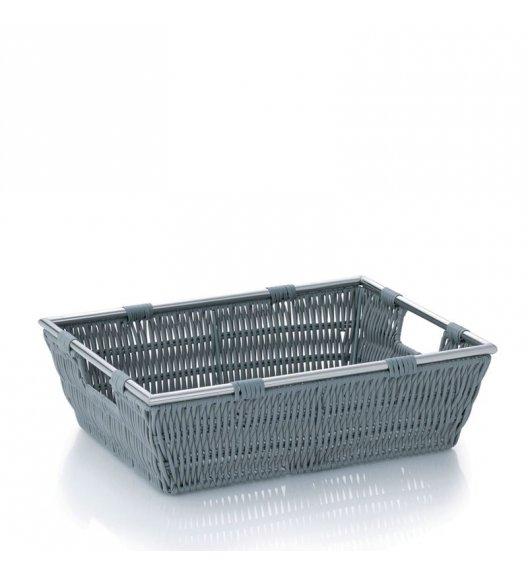 KELA Koszyk łazienkowy NOBLESSE jasnoszary 33 x 25 x 10 cm / FreeForm