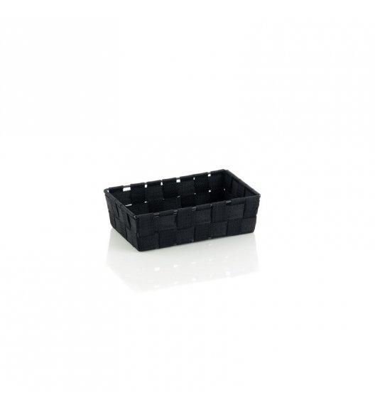 KELA Koszyk łazienkowy ALVARO czarny 23 x 15 x 6 cm / FreeForm