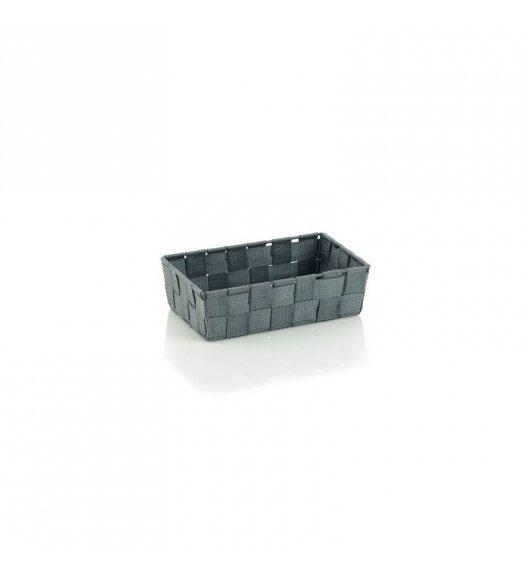 KELA Koszyk łazienkowy ALVARO szary 23 x 15 x 6 cm / FreeForm