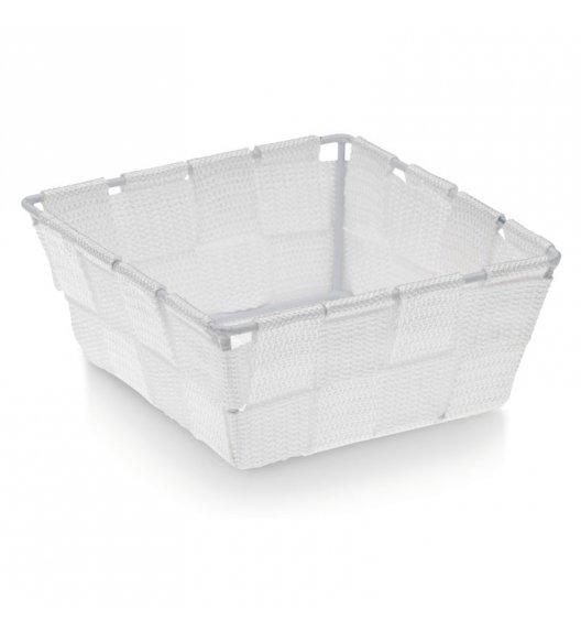 KELA Koszyk łazienkowy ALVARO biały 14 x 14 x 6 cm / FreeForm