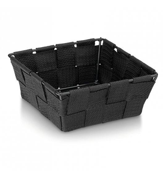 KELA Koszyk łazienkowy ALVARO czarny 14 x 14 x 6 cm / FreeForm