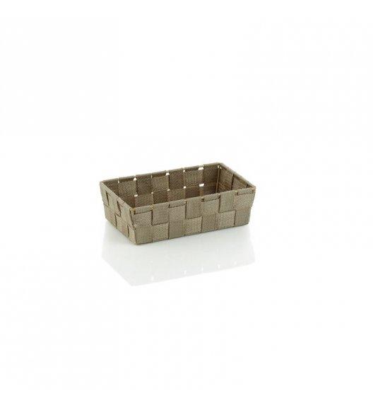 KELA Koszyk łazienkowy ALVARO szarobrązowy 23 x 15 x 6 cm / FreeForm