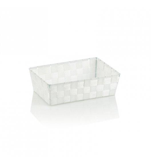 KELA Koszyk łazienkowy ALVARO biały 29,5 x 20,5 x 8,5 cm / FreeForm