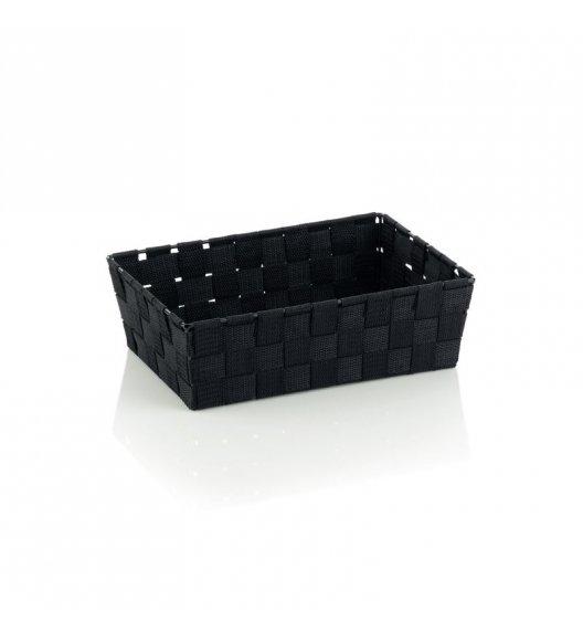 KELA Koszyk łazienkowy ALVARO czarny 29,5 x 20,5 x 8,5 cm / FreeForm