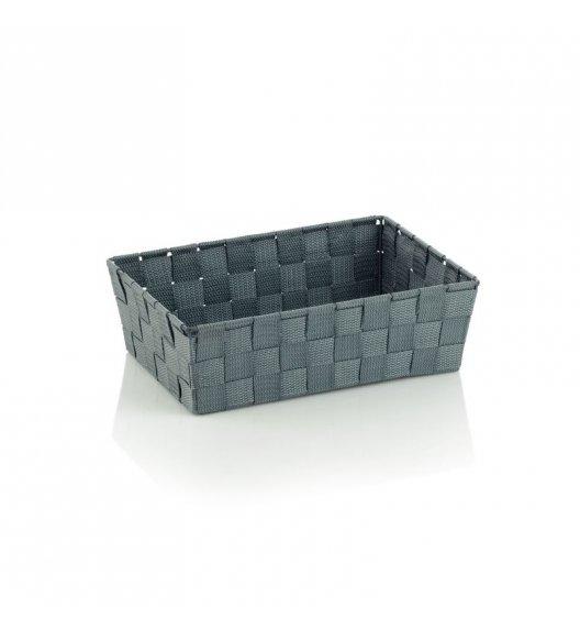 KELA Koszyk łazienkowy ALVARO szary 29,5 x 20,5 x 8,5 cm / FreeForm