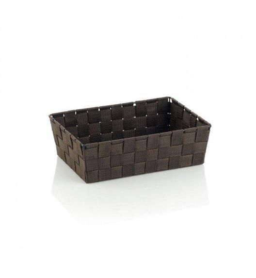 KELA Koszyk łazienkowy ALVARO brązowy 29,5 x 20,5 x 8,5 cm / FreeForm