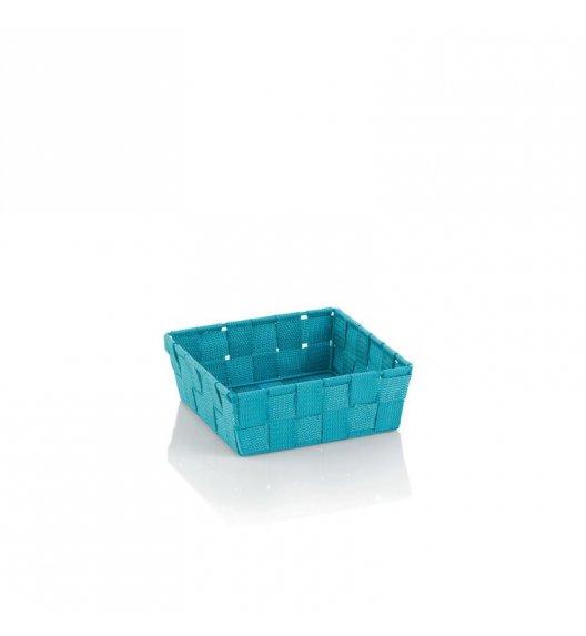 KELA Koszyk łazienkowy ALVARO turkusowy 19 x 19 x 6 cm / FreeForm