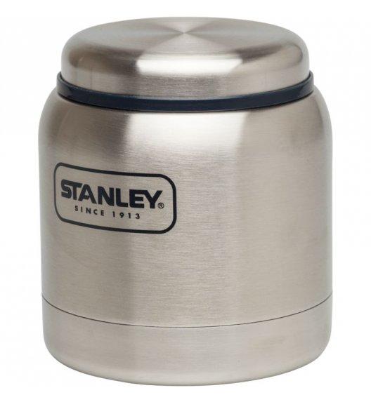 STANLEY Stalowy termos obiadowy ADVENTURE srebrny 0,3 l. - dożywotnia gwarancja / FreeForm