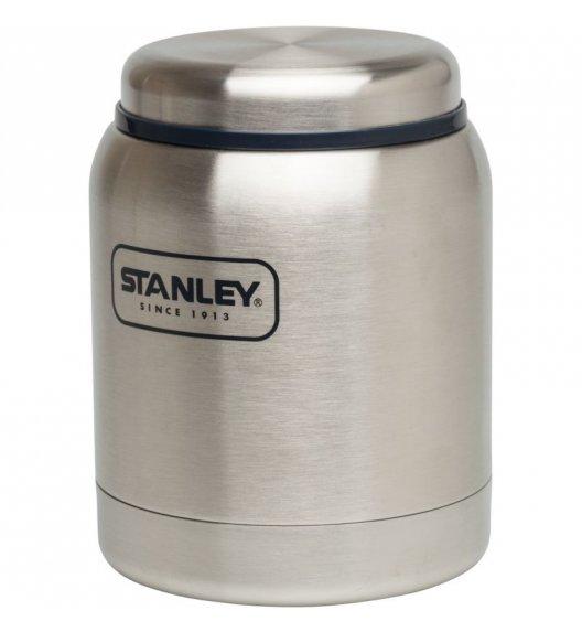 STANLEY Stalowy termos obiadowy ADVENTURE srebrny 0,4 l. - dożywotnia gwarancja / FreeForm