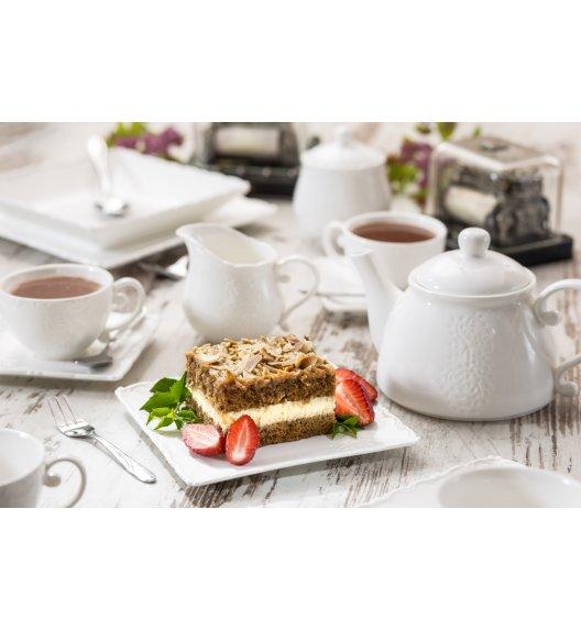 DUO FISCHER Komplet obiadowo kawowy 33 el / 6 osób / porcelana