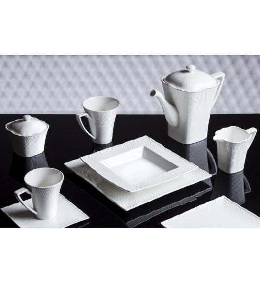 DUO RITZ Komplet obiadowo kawowy 33 el. / 6 osób / porcelana