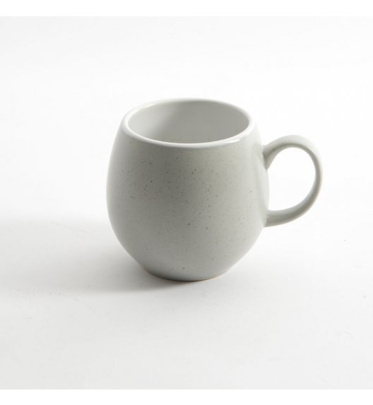 LONDON POTTERY Kubek ceramiczny do herbaty PEEBLE 0,4 l jasnoszary / FreeForm