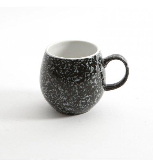 LONDON POTTERY Kubek ceramiczny do herbaty PEEBLE 0,4 l czarny / FreeForm