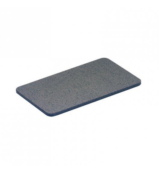 ZASSENHAUS Deska do krojenia z tworzywa sztucznego 25 x 16 cm, ciemnoszara / FreeForm