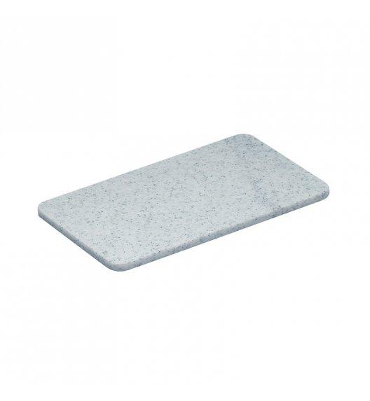 ZASSENHAUS Deska do krojenia z tworzywa sztucznego 25 x 16 cm, szara / FreeForm