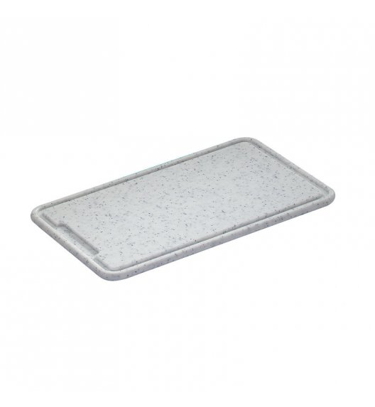 ZASSENHAUS Deska do krojenia z tworzywa sztucznego 42 × 27 × 1,5 cm, granitowa / FreeForm
