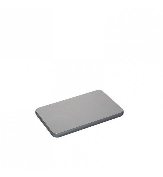 ZASSENHAUS Deska do krojenia z tworzywa sztucznego 25 x 16 cm, antracyt / FreeForm