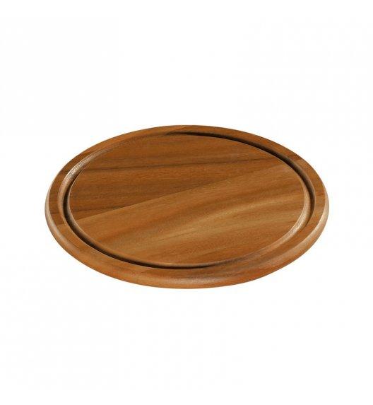 ZASSENHAUS Okrągła deska do serwowania z drewna akacjowego ⌀ 25,5 cm / FreeForm