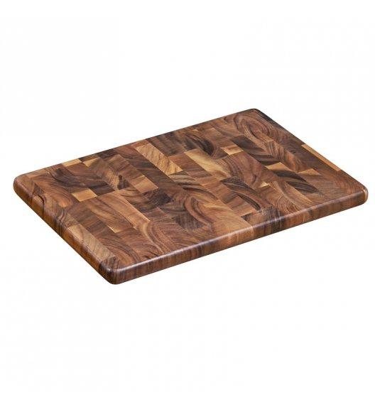 ZASSENHAUS Deska do krojenia typu end grain z drewna akacjowego 45 × 30 × 2,5 cm / FreeForm