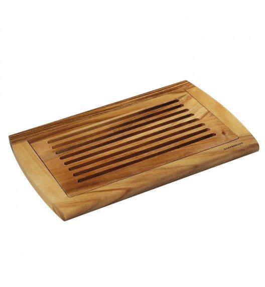 ZASSENHAUS Deska z drewna akacjowego do krojenia pieczywa / FreeForm