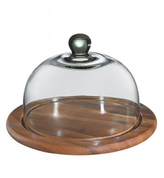 ZASSENHAUS Okrągła deska do sera ze szklana pokrywą ⌀ 30 cm / FreeForm