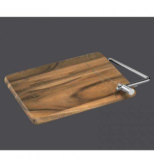 ZASSENHAUS Deska z wbudowanym nożem do sera / FreeForm