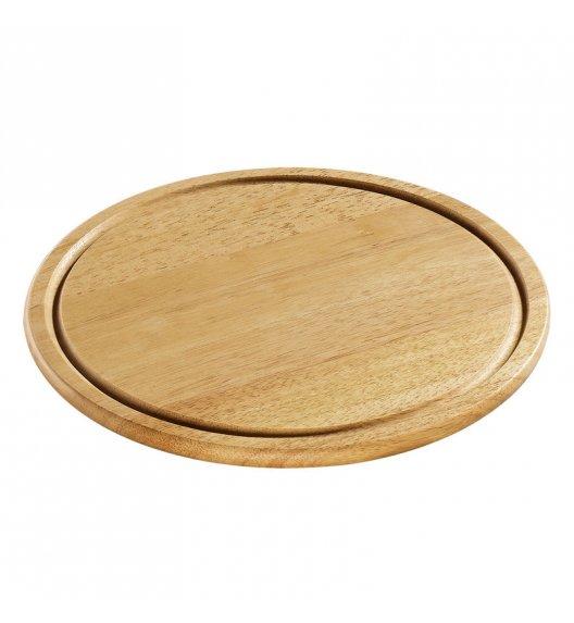 ZASSENHAUS Okrągła deska do krojenia z drewna kauczukowego ⌀ 30 / FreeForm