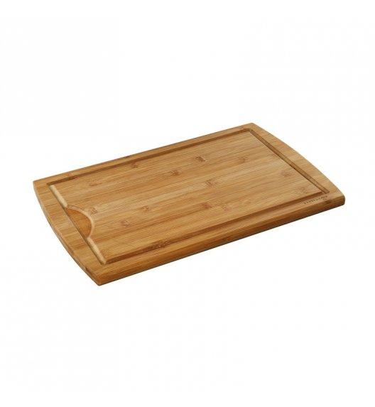 ZASSENHAUS Deska do krojenia z drewna bambusowego 42 × 27,5 cm / FreeForm