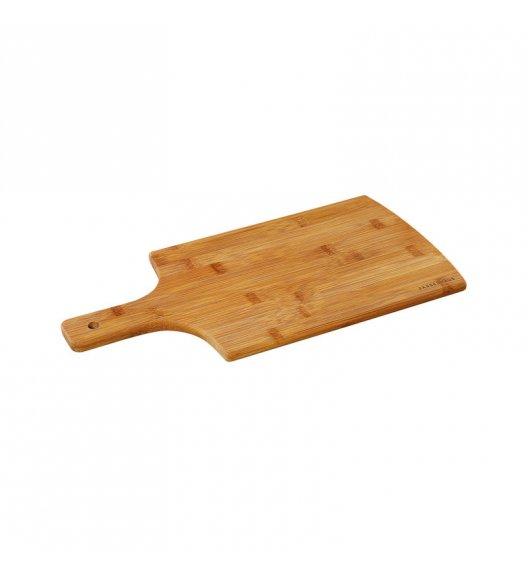 ZASSENHAUS Deska do krojenia z drewna bambusowego z rączką 38 × 20 cm / FreeForm