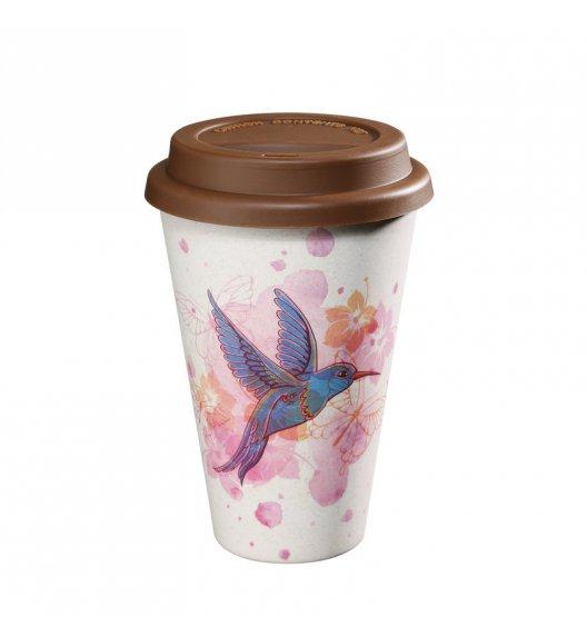 ZASSENHAUS Kubek na kawę z bioplastiku ECO LINE ⌀ 10 cm, ptak / FreeForm