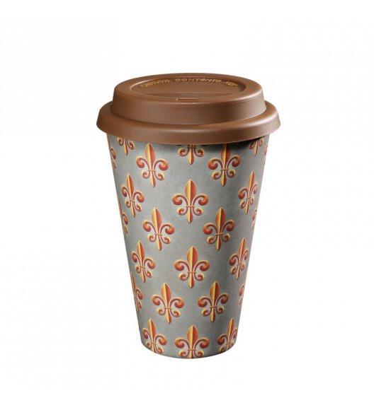 ZASSENHAUS Kubek na kawę z bioplastiku ECO LINE ⌀ 10 cm, french lily / FreeForm