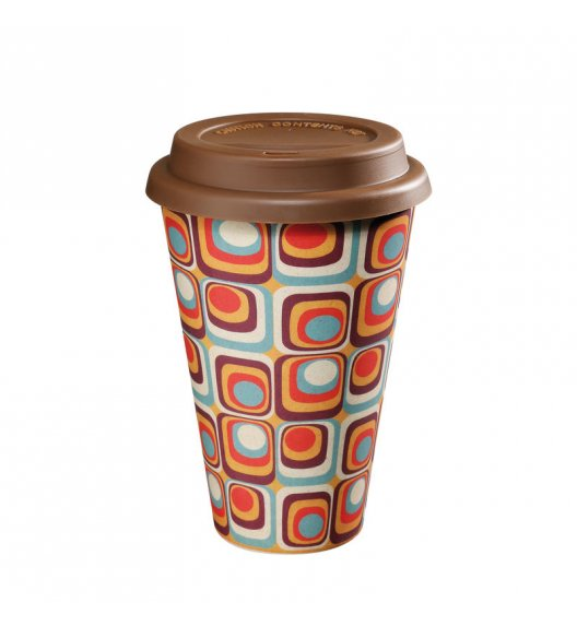 ZASSENHAUS Kubek na kawę z bioplastiku ECO LINE ⌀ 10 cm, vintage / FreeForm