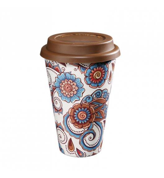 ZASSENHAUS Kubek na kawę z bioplastiku ECO LINE ⌀ 10 cm, kwiaty / FreeForm