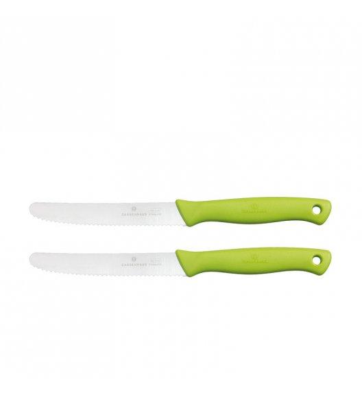 ZASSENHAUS Zestaw 2 noży śniadaniowych, 10,5 cm, zielone  / FreeForm