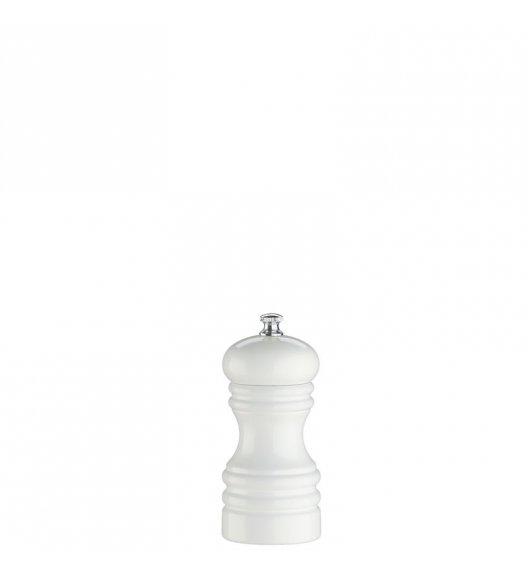 ZASSENHAUS Młynek do soli BERLIN ⌀ 5,3 x 12 cm, biały / FreeForm
