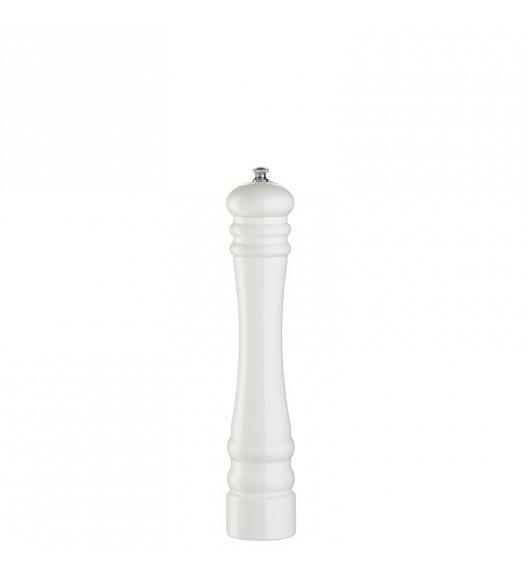ZASSENHAUS Młynek do pieprzu BERLIN ⌀ 6,0 x 30 cm, biały / FreeForm