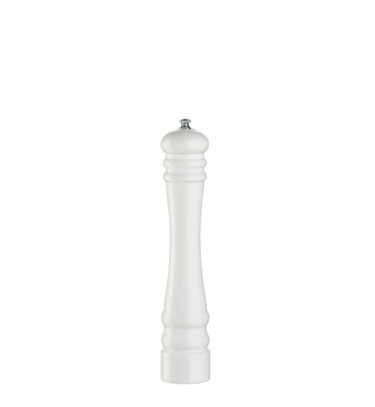 ZASSENHAUS Młynek do soli BERLIN ⌀ 6,0 x 30 cm, biały / FreeForm