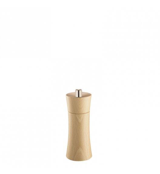 ZASSENHAUS Młynek do soli FRANKFURT ⌀ 5,8 x 14 cm, naturalny / FreeForm