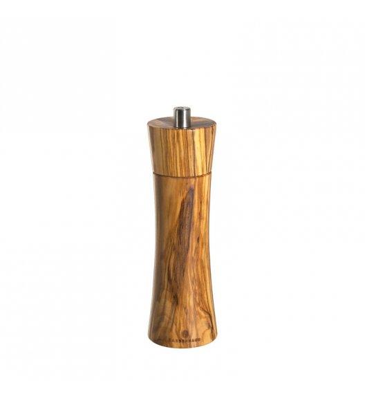 ZASSENHAUS Młynek do soli FRANKFURT ⌀ 5,8 x 18 cm, drewno oliwne / FreeForm
