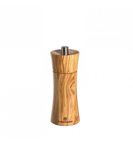 ZASSENHAUS Młynek do pieprzu FRANKFURT ⌀ 5,5 x 14 cm, drewno oliwne / FreeForm