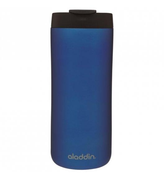 ALADDIN Kubek termiczny stalowy HOT & COLD 0,35 l niebieski / FreeForm
