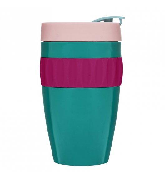 SAGAFORM Kubek termiczny CAFE różowo-zielony, 0,4 l / FreeForm