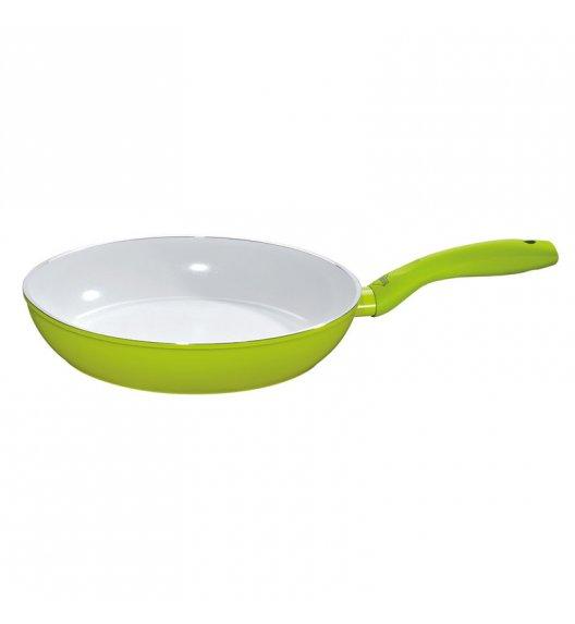 KUCHENPROFI Patelnia z powłoką ceramiczną 28 cm / zielona / FreeForm